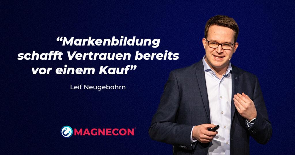 Markenbildung schafft im Mittelstand Vertrauen - Leif Neugebohrn